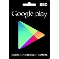 Google Play Gift Card 50$ 50 USD