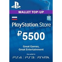 PSN 5500 рублей PlayStation Network (RUS)