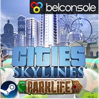 Cities: Skylines - Parklife DLC Оригинальный Ключ Steam