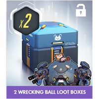 Overwatch: 2 WRECKING BALL LOOT BOXES | PROMO | Region