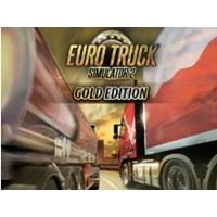 Euro Truck Simulator 2 Gold Edition / Steam Key / RU
