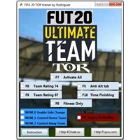 FIFA 20 TOR Чит Trainer for Ultimate Team