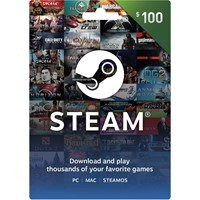 ❤️STEAM WALLET GIFT CARD 100$ USD | GLOBAL🔥