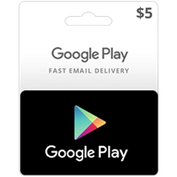 ⭐️🎁GOOGLE PLAY GIFT CARD $ 5 (USA) | Discount🎁⭐️