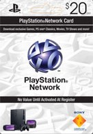 Купить лицензионный ключ PLAYSTATION NETWORK (PSN) - $20 (USA) | CКИДКИ на SteamNinja.ru
