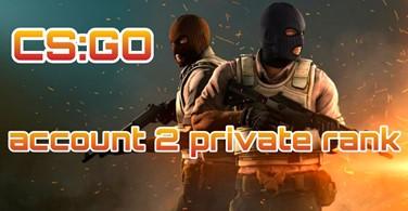 Купить аккаунт CS:GO аккаунт 🔥 2 Приват Ранг ✅ + Родная почта на SteamNinja.ru