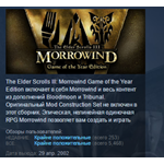The Elder Scrolls III: Morrowind Game of the Year GOTY