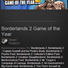Borderlands 2 Game of the Year (Steam Gift Region Free)