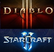 Diablo 3+StarCraft 2:Wings of Liberty [BATTLE.NET]