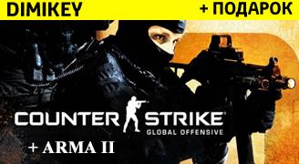 CS:GO PRIME + Arma 2 + подарок + бонус [STEAM]