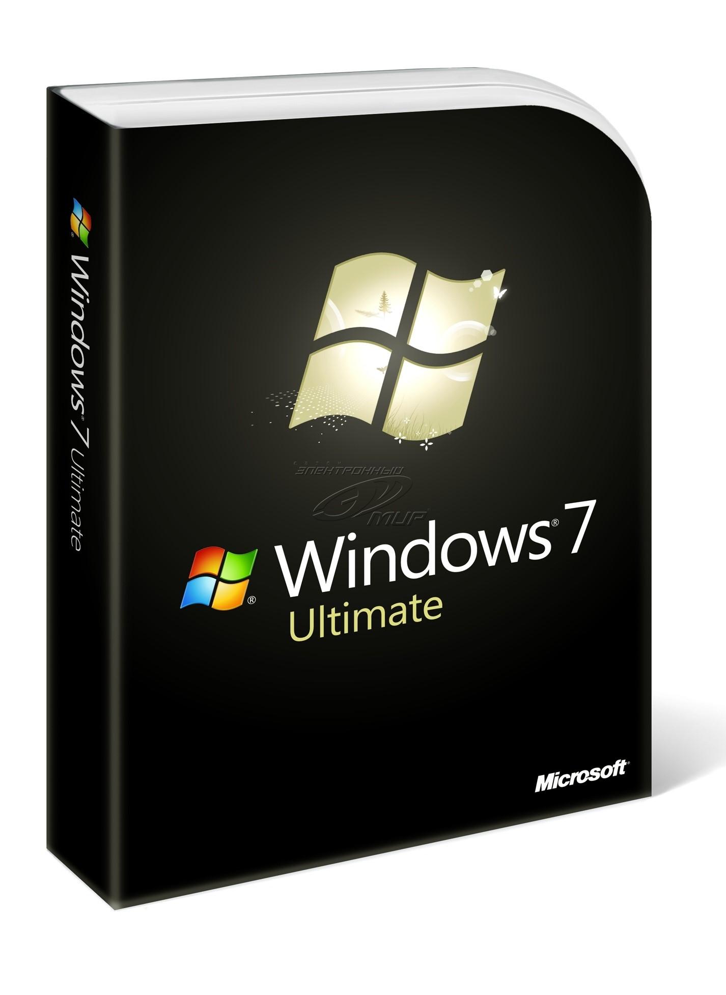 Windows 7 Ultimate (х32, х64)