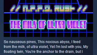N.P.P.D RUSH — The milk of Ultraviolet STEAM KEY GLOBAL