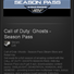 Call of Duty Ghosts Season Pass - STEAM Gift / GLOBAL