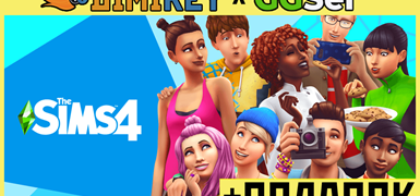 Sims 4 [ORIGIN] + подарок + скидка
