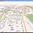 GPS-карта (2014) города Степногорск, Казахстан