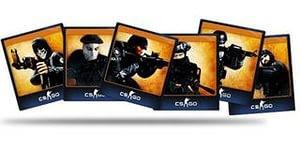 CS:GO - Набор из 5 карточек - АКЦИЯ