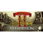 Age of Empires II HD + The Forgotten. Steam gift. RoW.