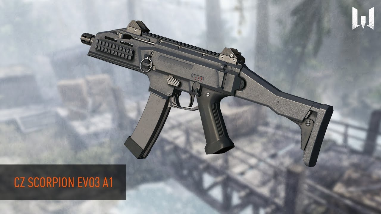 Пин-код Warface: CZ Scorpion EVO 3 A1 ( 1 день )