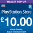 PLAYSTATION NETWORK (PSN) - 10 GBP (UK)   СКИДКИ