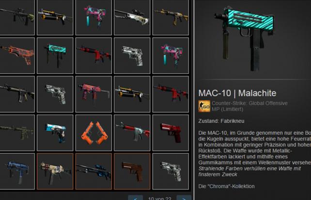 Случайное оружие Counter Strike: GO  + Скидки + Бонусы