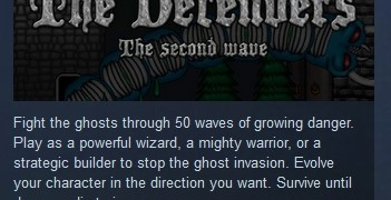 The Defenders: The Second Wave (STEAM KEY REGION FREE)