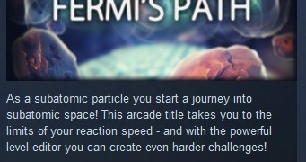 Fermi's Path ( Steam Key / Region Free ) GLOBAL ROW