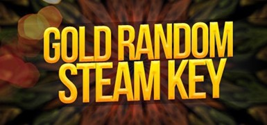 Steam GOLD KEY random