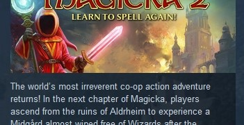 Magicka 2 STEAM KEY RU+CIS СТИМ КЛЮЧ ЛИЦЕНЗИЯ &#128142