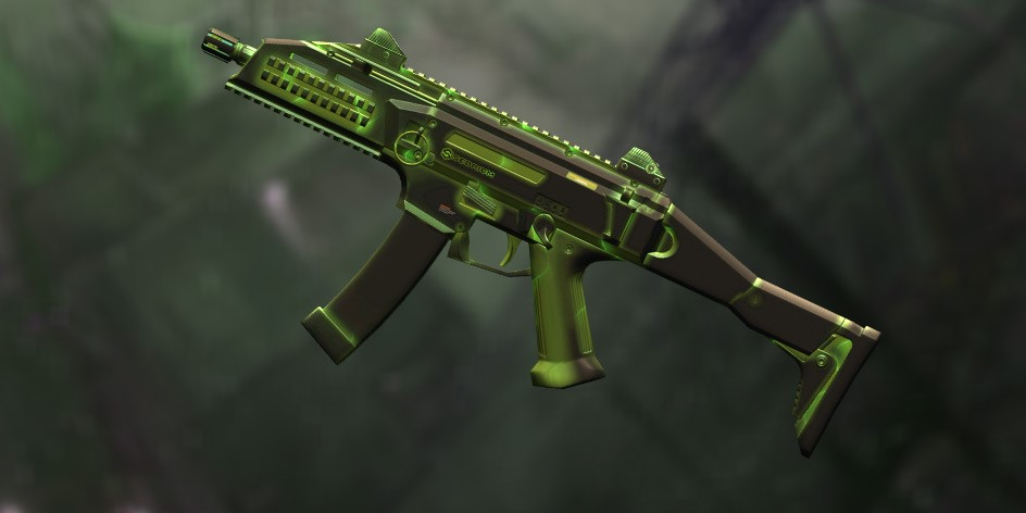 Пин-код Warface: CZ Scorpion EVO 3 A1 «Радиация» (1 д.)