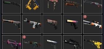 CS:GO Набор случайного оружия cs:go(предметы)5 шт+БОНУС