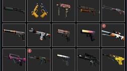 CS:GO Набор случайного оружия cs:go(предметы)15шт+БОНУС