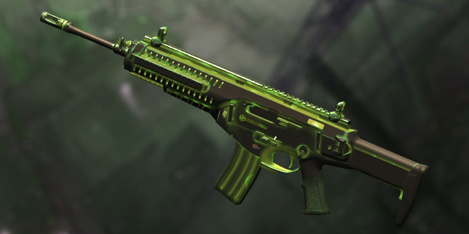Пин-код Warface: Beretta ARX160 «Радиация» ( 1 день )