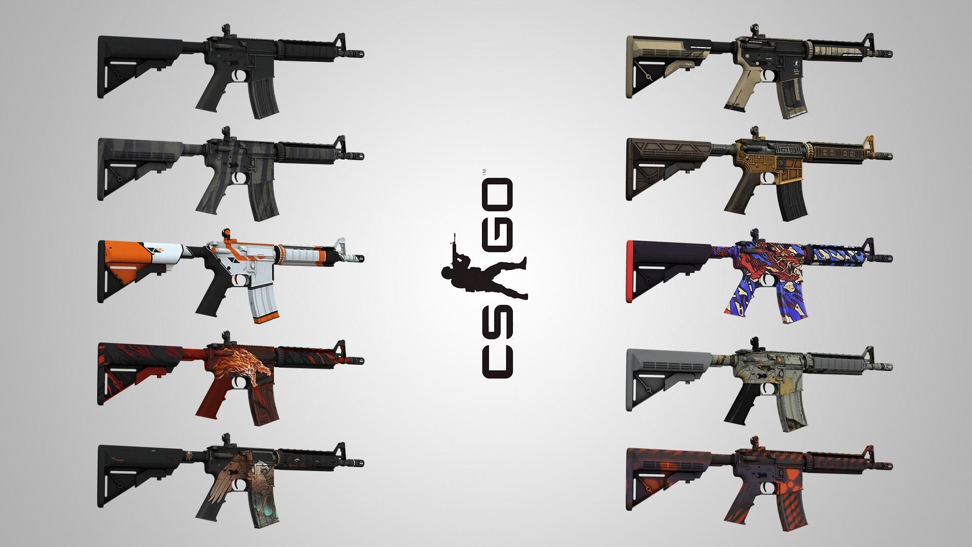 CS:GO | Случайное M4A4 - Лучший рандом