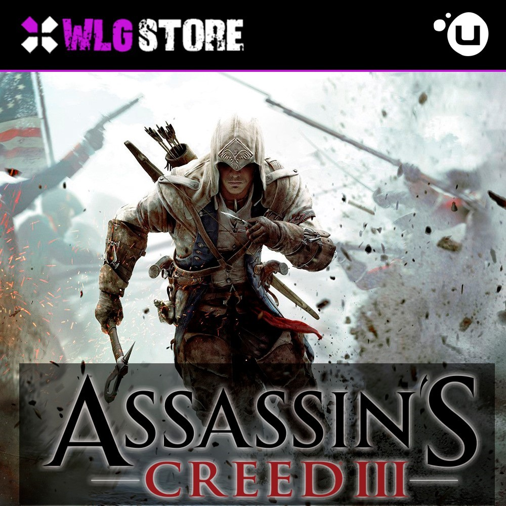 Купить ASSASSIN´S CREED 3 | REGION FREE | UPLAY