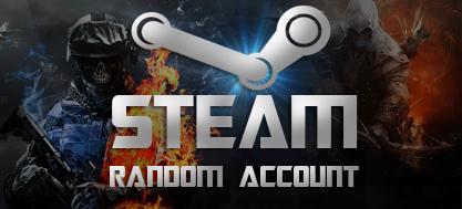 Случайный аккаунт Steam (GTA 5, CSGO,PUBG и другие)