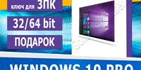 Windows 10 Pro (x32-x64) 2PC