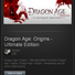 Dragon Age Origins Ultimate Edition - STEAM Gift GLOBAL