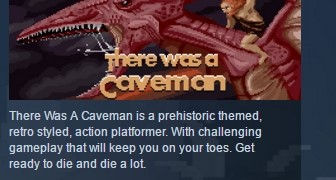 There Was A Caveman ( Steam Key / Region Free ) GLOBAL