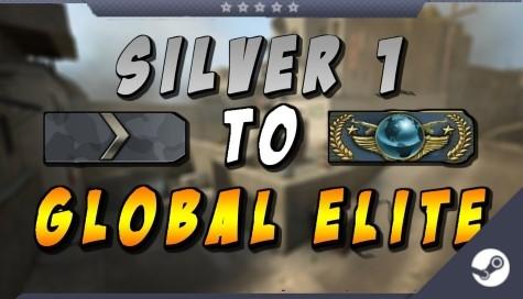 CS;GO Звание [Silver до Global Elite] MEGA RANDOM