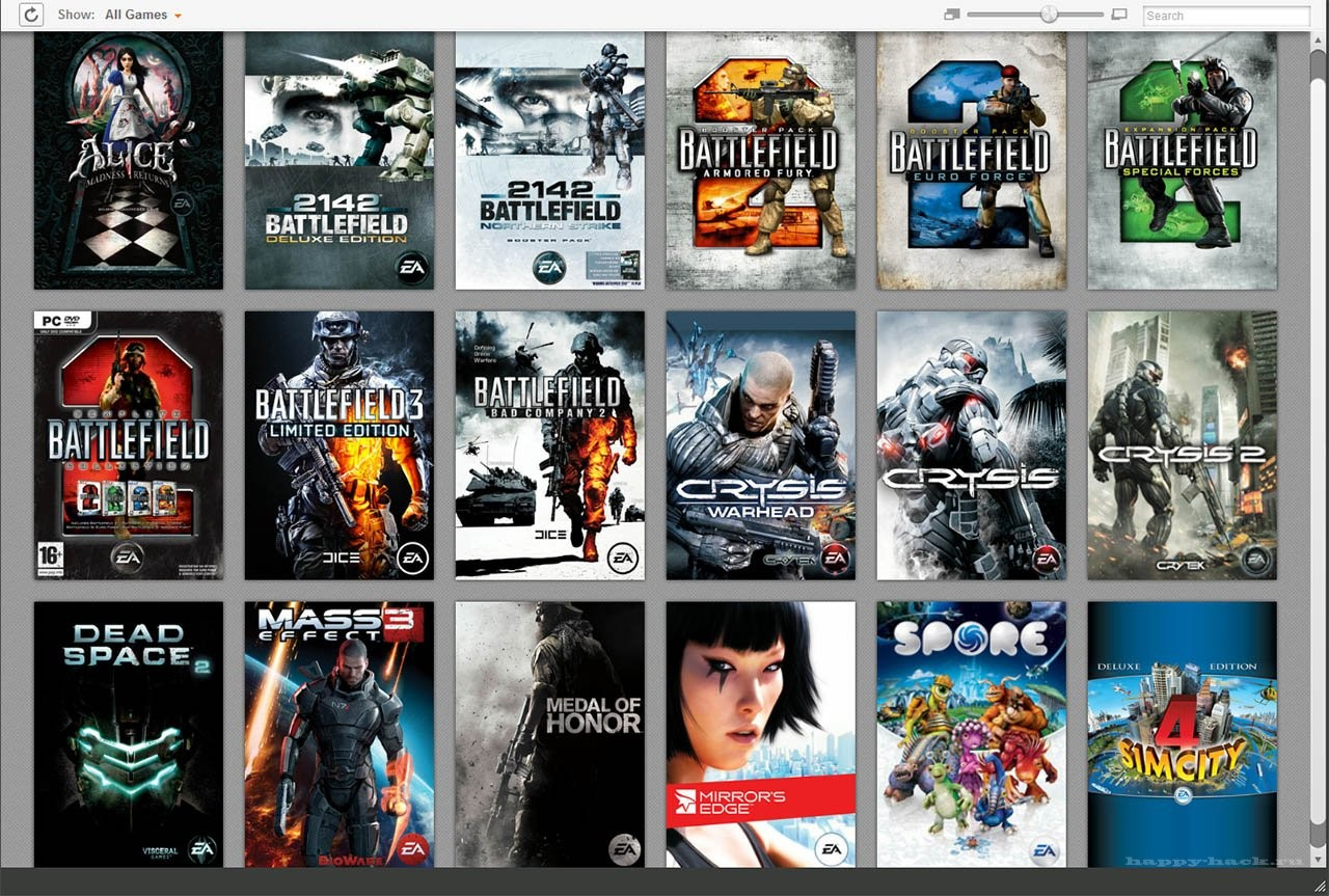 Купить Аккаунт Origin от 5 игр