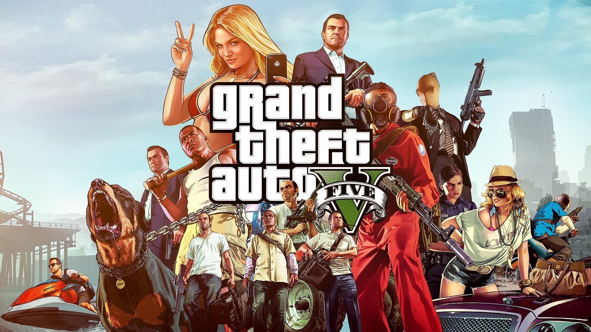 Grand Theft Auto V / GTA 5 PC Online [Social Club]