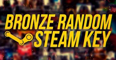 Купить лицензионный ключ Random BRONZ Steam Key на SteamNinja.ru