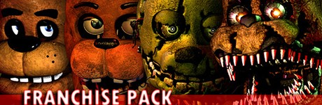 Купить Five Nights at Freddy's Franchise Pack (1-4) Gift RUCIS