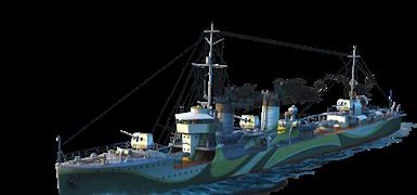 Бонус-код - корабль Kamikaze + слот (World of Warships)