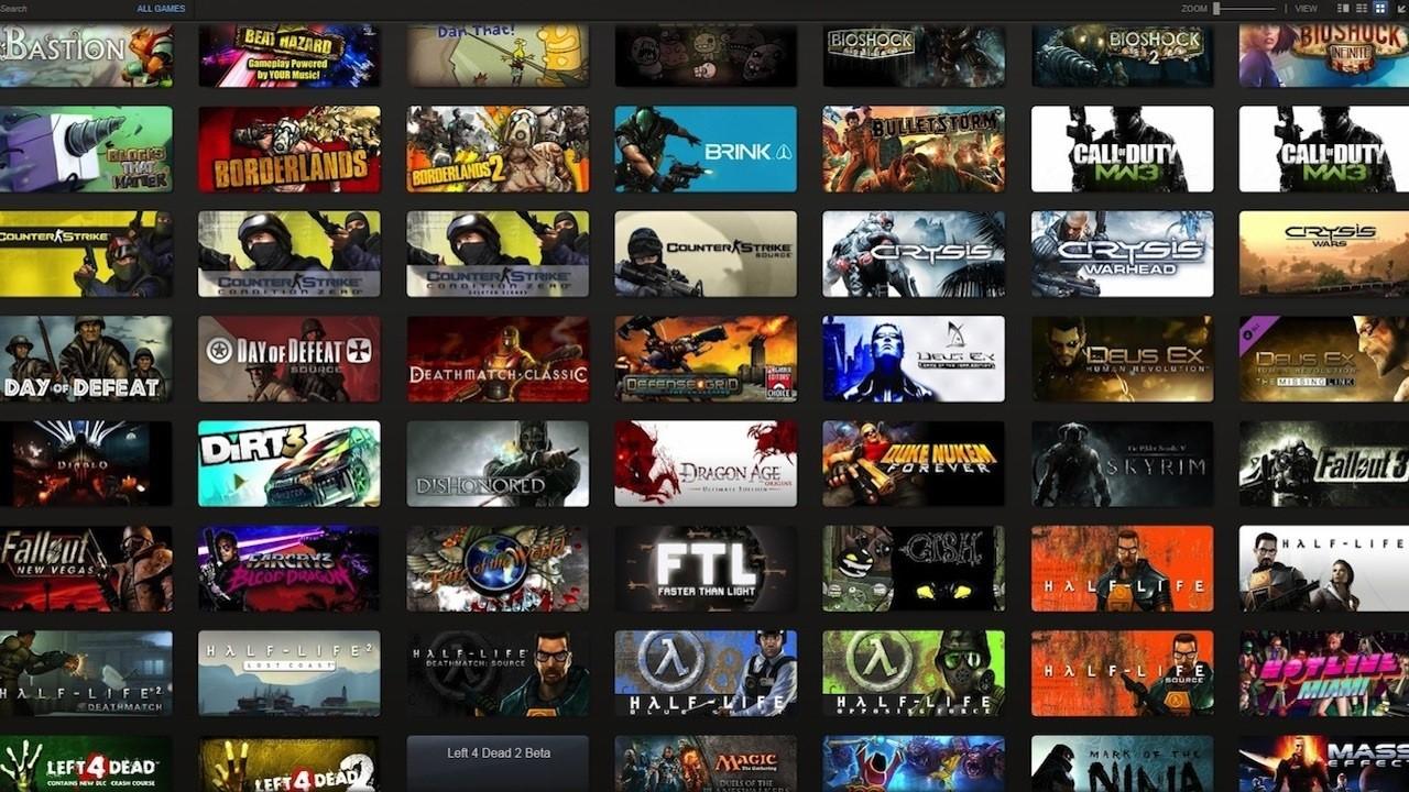 Случайный сборник Steam (аккаунт от 100 и более игр)