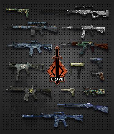 Купить CS:GO случайное оружие + СКИДКИ + БОНУС