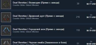 CS:GO Случайные Dual Berettas (предмет)АКЦИЯ\ПОДАРОК