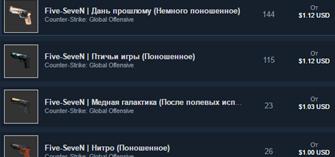 CS:GO Случайный Five-SeveN(предмет)АКЦИЯ