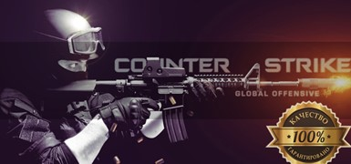 Counter Strike: Global Offensive от 30-500 Cs go вещей