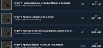 CS:GO Случайный Negev (предмет csgo)+ПОДАРОК